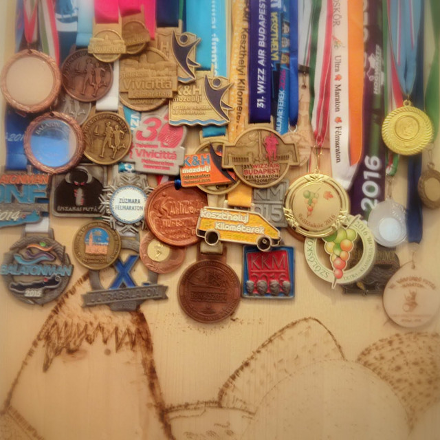 The most awesome medal hanger
